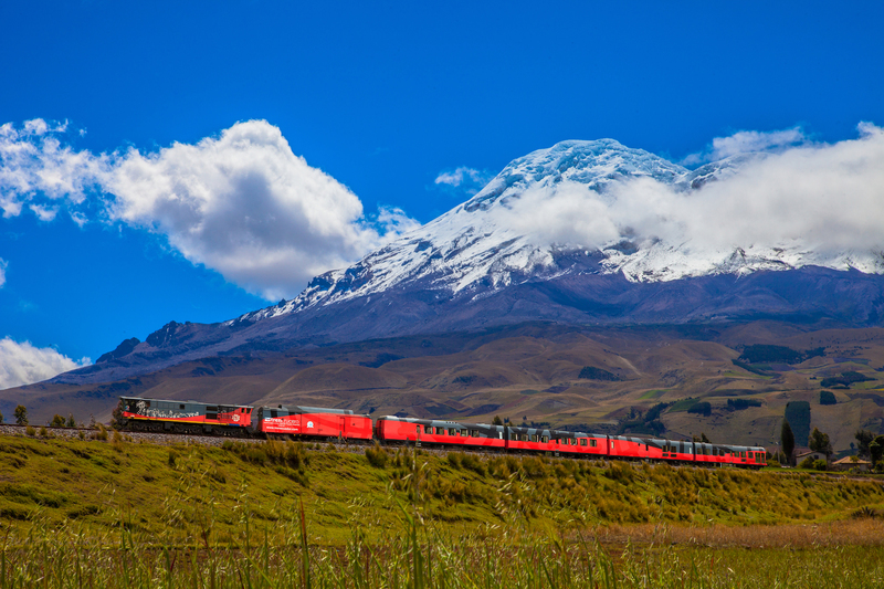Tren crucero at chimborazo slopes